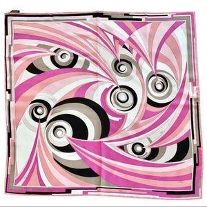 """Emilio Pucci Silk Twill Scarf 35"""" Square"""